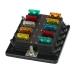 10 x ATO/ATC saugiklio laikiklis su LED indikacija