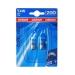 Osram lemputės COOL BLUE, T5W, 5W, BA9s, DUO 3893CB-02B