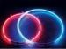 CALIBER, NWR12RD neoninės lempos; 30cm.raudonos; apvalios
