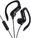 JVC, HA-EB75BE, juodos sp. dinaminės ausinės