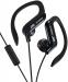 JVC, HA-EBR25BE, juodos sp. dinaminės ausinės