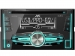 JVC, KW-R510 2-DIN USB/CD MP3 magnetola su AUX įėjimu