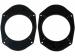 Perėjimo žiedai garsiakalbiams Ford Fiesta/Focus/Fusion/Mondeo