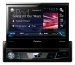 "Pioneer, AVH-X7800BT 7"" fold-out touchscreen multimedia player with easy smartphone connectivity via"