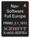 Xzent, X-402 navigacijos programa iGO primo