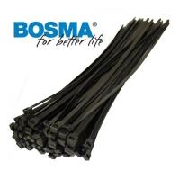 Bosma, kabelio dirželis 100x2.5 juodas, 100vnt