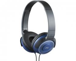 JVC, HA-S220AE, mėlynos sp. dinaminės ausinės