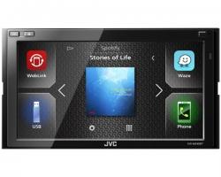 "JVC, KW-M540BT 2-DIN AV grotuvas su 6.8"" ekranu, Bluetooth"