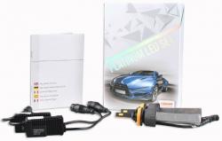 LED pagrindinės šviesos H8, 5700K, Osram opto Semiconductors, 2v