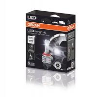 Osram LED pagrindinės šviesos H11, 6000K, LEDriving HL, 2vn, 67211