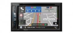 """Pioneer, AVIC-Z610BT 2-DIN AV grotuvas su 6.2"""" ekranu, Navigacija"""