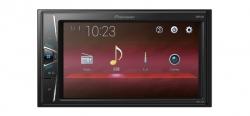 """Pioneer, MVH-G110  grotuvas su 6.2"""" ekranu, USB, AUX"""