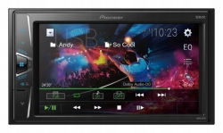 "Pioneer, MVH-G210BT Mediacenter mit 6.2"" (15,7 cm) Touchscreen, USB, Aux-In, Video-Ausgang"