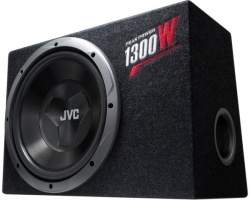 JVC, CS-BW120 Bass Reflex Sub with Tube Enclosure Box (1300W)