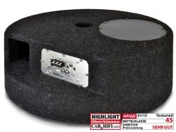 AXTON, AXB20STP 20cm Bandpass als Reserverad-Ersatz mit Amp
