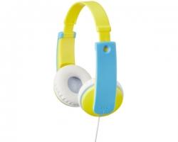 JVC, HA-KD7-YE, geltonos/šviesiai mėlynos sp., ausinės