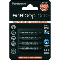Panasonic, 900 mA R03 / AAA tipo, ENELOOP įkraunamos baterijos