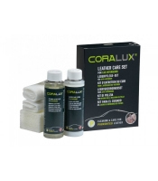 CORALUX automobilių odos priežiūros rinkinys
