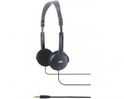 JVC, HA-L50BE, juodos sp. dinaminės ausinės