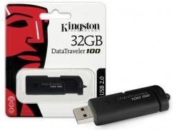 USB atminties raktas Kingston 32GB DataTraveler 100 G2