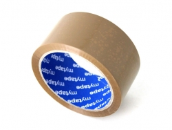 Lipni pakavimo juosta 48x66 (ruda) solvent