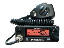 President, Truman ASC AM/FM CB radijo stotelė new