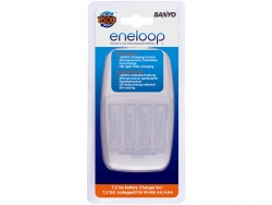 Sanyo ENELOOP kroviklis MQN09-E-4-3UTGA +4vnt. AA tipo baterijų