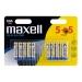 Maxell, AAA  x 10 baterijų  pakuotė