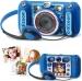 Vaikiškas skaitmeninis fotoaparatas, mėlynas