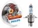 Philips lemputės X-Treme Vision G-Force +130%,  H4, 60/55W, DUO 12