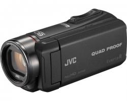 JVC, GZ-R445BEU, vaizdo kamera, spalva juoda