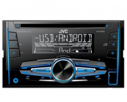 JVC, KW-R520 2-DIN USB/CD MP3 magnetola su AUX