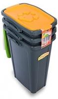 DUPLAST DU-75801 atliekų konteineris, 1vnt., oranžinis